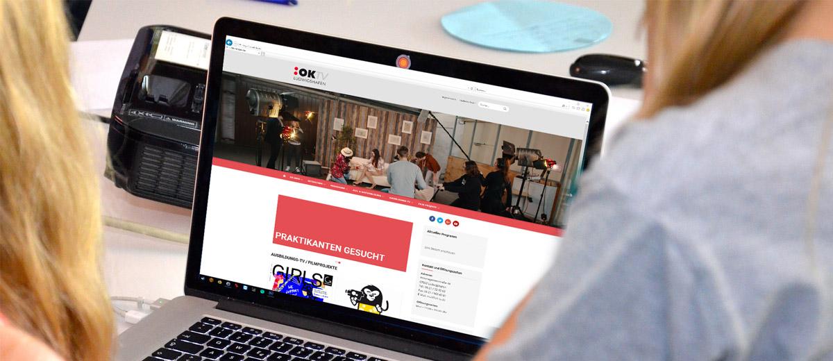 OK-TV Ludwigshafen mit neuer Website