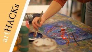OK-LU Website Art-Hacks-Action-Painting